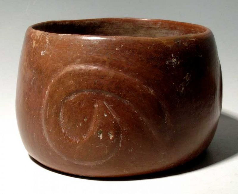 Colima Serpent Bowl
