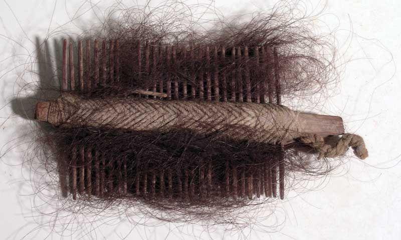 Chancay Textile Comb