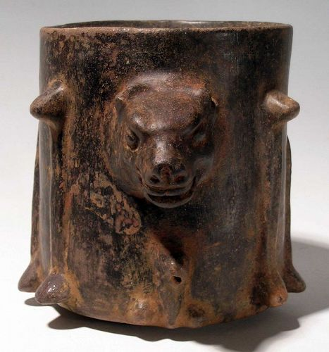 Maya Deity Vessel