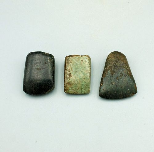 3 Maya Votive Celts