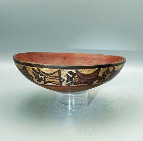 Nazca Maize God Bowl