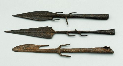 3 Congo Spear Points