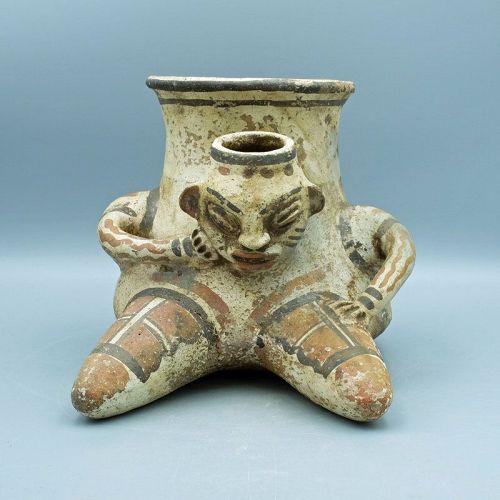 Nicoya Figural Vessel