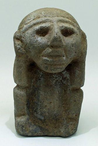 Maya Stone Effigy
