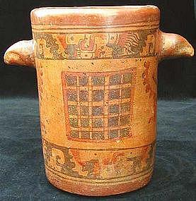 Mayan Eagle Cylinder