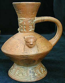 Lambayeque Incised Vessel
