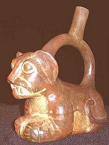 Moche Puma Cub