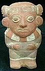 Moche Polychrome Figure