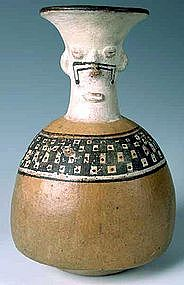 Inca Polychrome Vessel