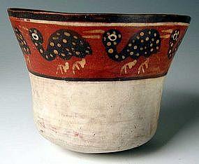 Nazca Extinct Avian Bowl