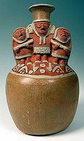 Inca Polychrome Scene