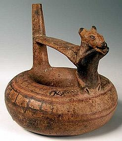Lambayeque Effigy vessel