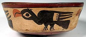 Nazca Avian Bowl