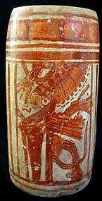 Mayan Holmul Cylinder