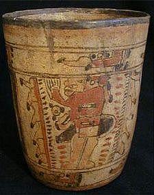 Mayan Ballplayer Cylinder