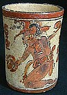 Mayan Yaxhaal Chac Cylinder