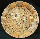 Mayan Polychrome Plate