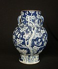 Qing Peach Blossom Vase