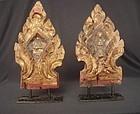 Lanna Thai Temple Furniture Elements