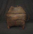 Northern Thai Rice Basket