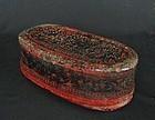Lanna Thai Lacquered Box
