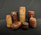 Khmu ensemble of bamboo boxes