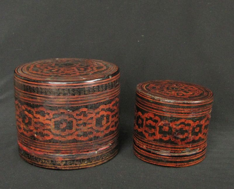 Burmese Lacquer Boxes