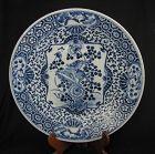Qing Porcelain Charger