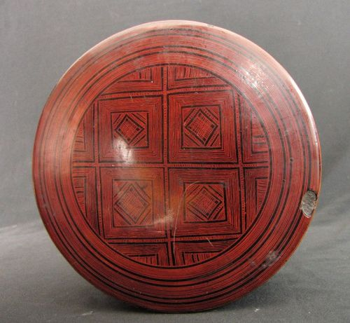 Shan Lacquer Box