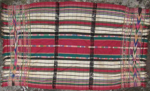 Burmese Woman�s Blanket