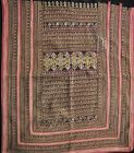 Antique Yao Embroidered Panel