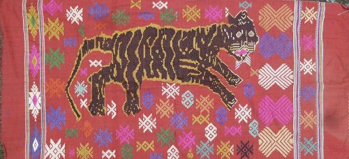 Lao Tiger Embroidery