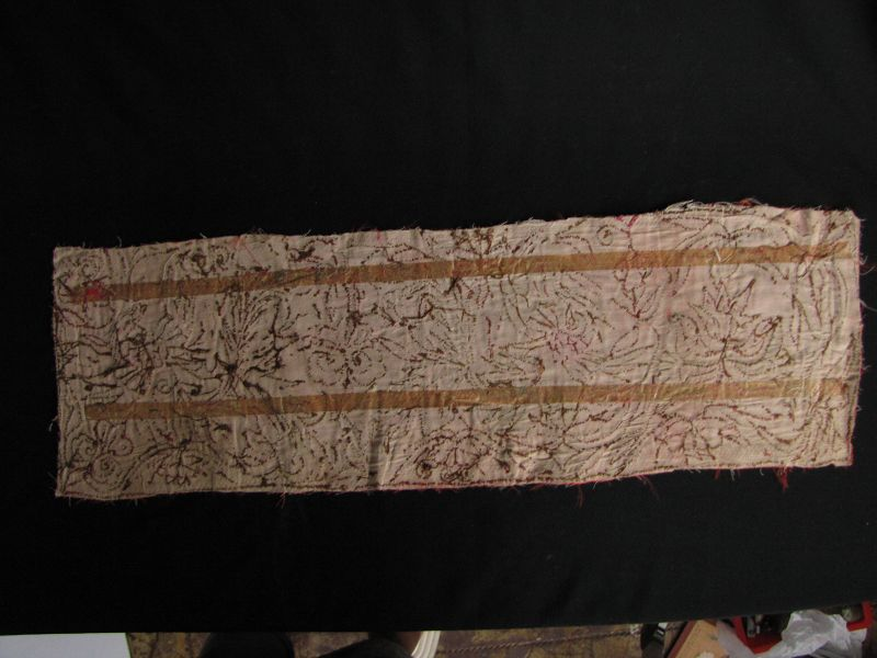 Miao Embroidered Panel