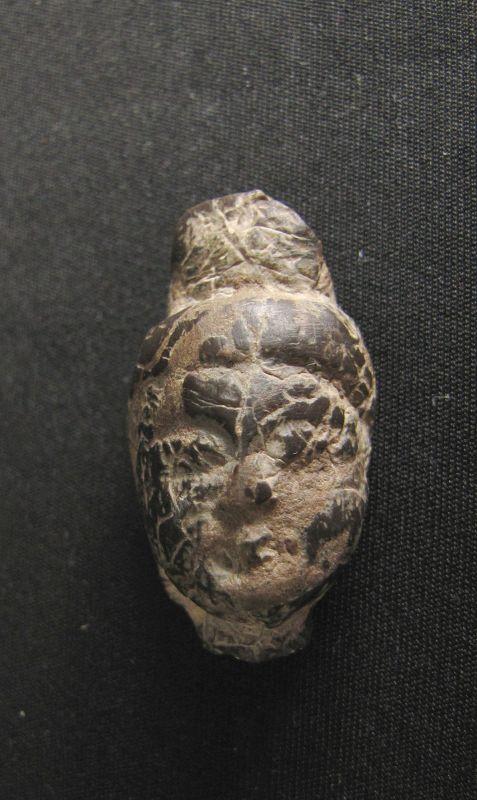 Tang Stone Buddha Head