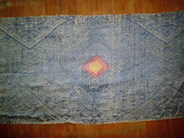 Old Lao Silk Scarf- Lao Pha Chet