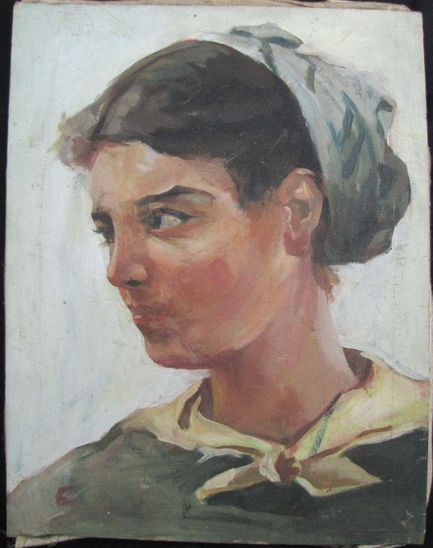 Portrait of a Woman: Communist Heroine
