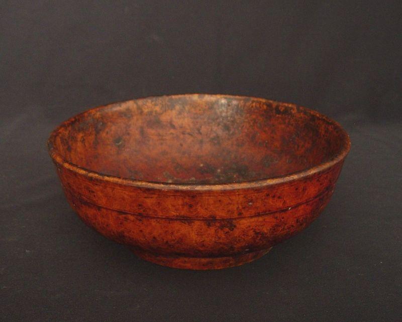 Sino Tibetan Lacquer Bowl