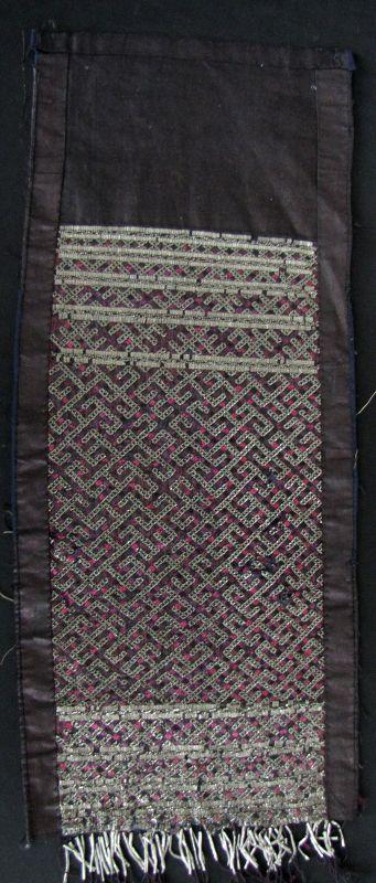Jiupang Miao Tin Embroidery