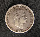 Kingdom of Hawaii Kalakaua Silver 1/4 Dollar