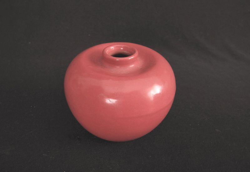 Coral Red Water Coupe