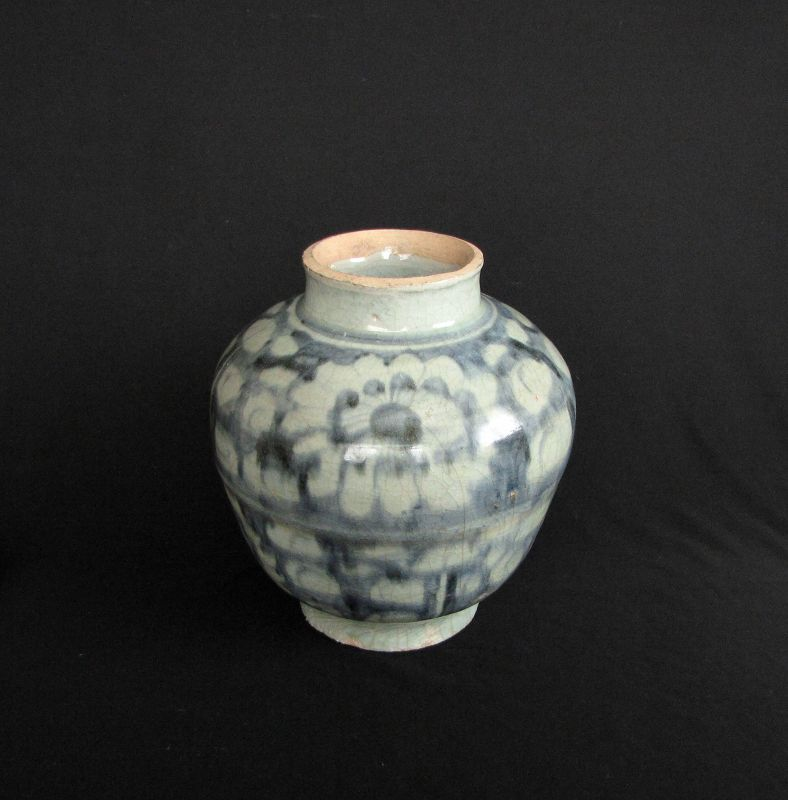 Ming Blue and White Jar ��