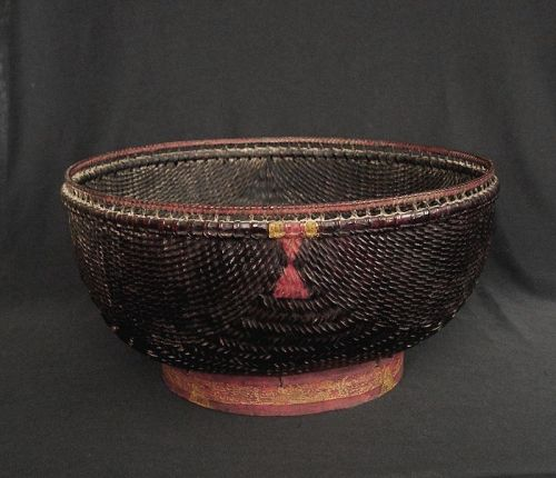Old Cambodian basket