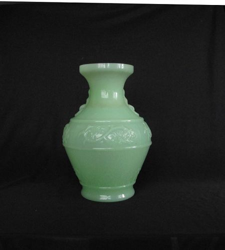 Antique Chinese Glass Vase