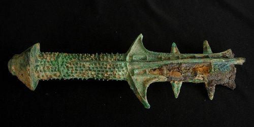 Han Bronze Sword Handle