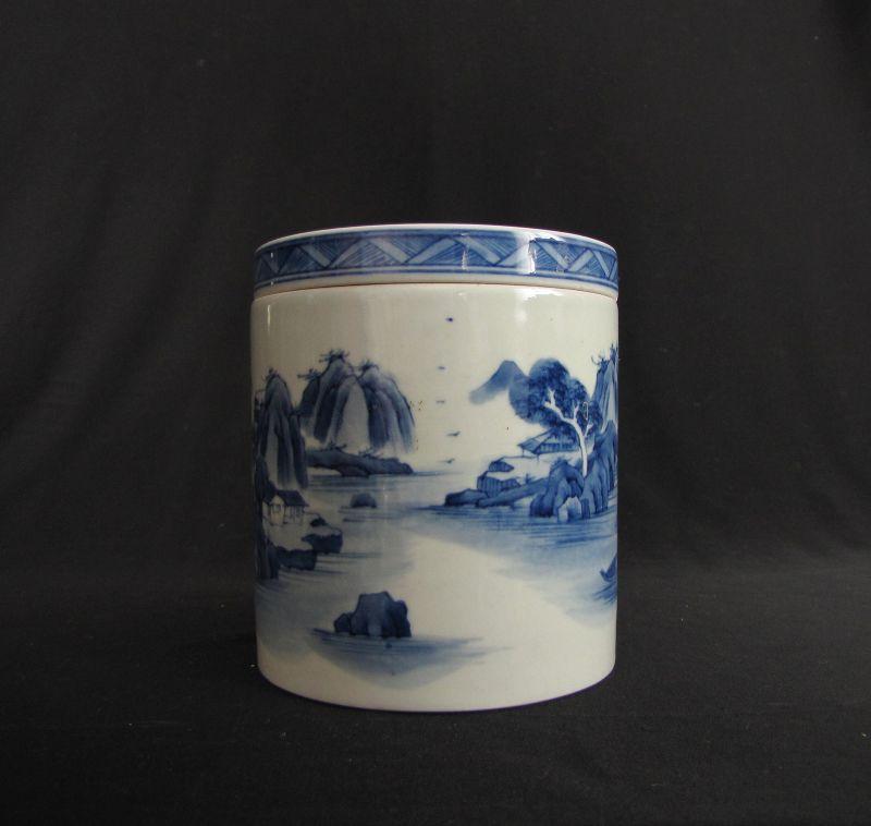 Kangxi Style Porcelain Cricket Boxes