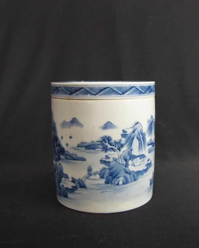 Kangxi Style Porcelain Cricket Boxes