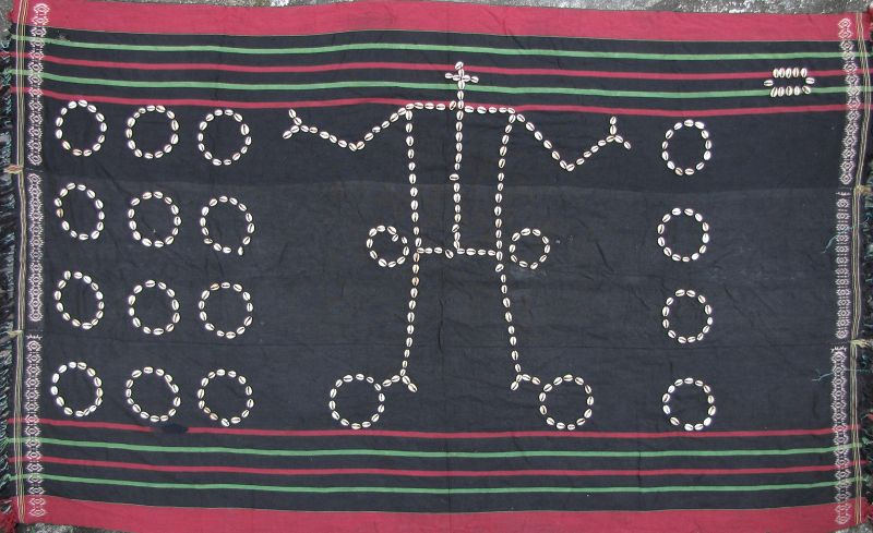 Naga Cowry Shell Cloth