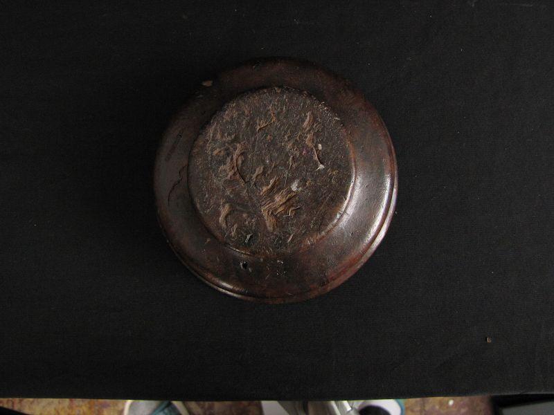 Antique Tibetan Yak Butter Tea Bowl