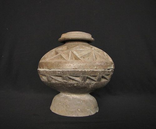 Warring States Pottery Dou ���代