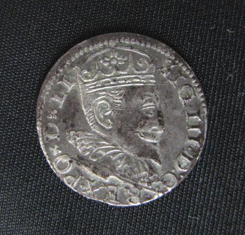 Riga 3 Groschen 1596 Sigismund III Coin